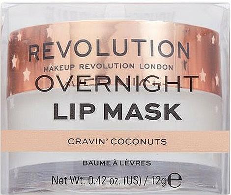 "Maschera labbra ""Cocco"" - Makeup Revolution Kiss Lip Balm Cravin Coconuts — foto N2"