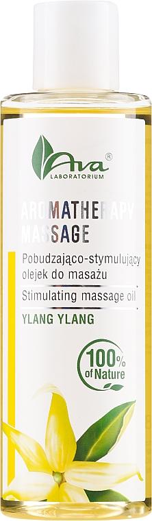 Olio da massaggio allo ylang-ylang - Ava Laboratorium Aromatherapy Massage Stimulating Massage Oil Ylang-Ylang