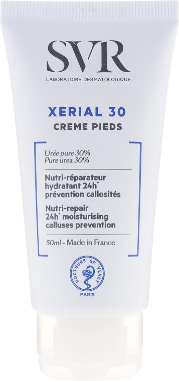 Crema per piedi, pelle molto secca e danneggiata - SVR Xerial 30 Pieds