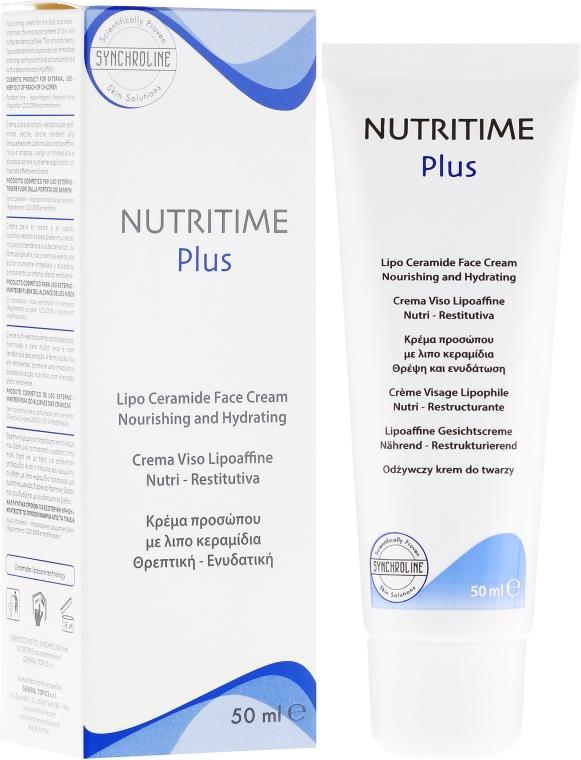 Crema viso nutriente e idratante - Synchroline Nutritime Face Cream