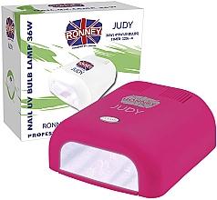 Profumi e cosmetici Lampada UV per unghie, lampone - Ronney Profesional Judy UV 36W (GY-UV-230) Lamp
