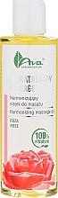 Profumi e cosmetici Olio da massaggio all'estratto di rosa - Ava Laboratorium Aromatherapy Massage Harmonizing Massage Oil Rose