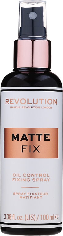 Spray fissante trucco - Makeup Revolution Matte Fix Oil Control Fixing Spray