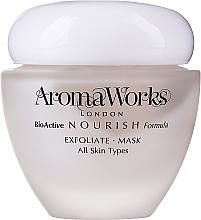 Profumi e cosmetici Maschera viso esfoliante - AromaWorks Nourish Face Exfoliate Mask