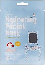 Profumi e cosmetici Maschera idratante in tessuto - Cettua Hydrating Facial Mask