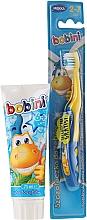 Profumi e cosmetici Set di spazzolino e dentifricio per bambini - Bobini (t/brush + t/paste/75 ml)