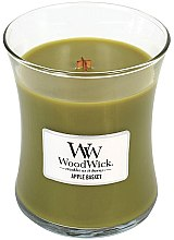 Profumi e cosmetici Candela profumata in vetro - WoodWick Hourglass Candle Apple Basket