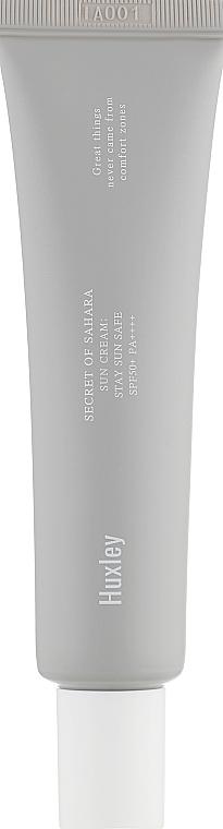 Crema solare per viso - Huxley Sun Cream Stay Sun Safe SPF50+ PA++++ — foto N1
