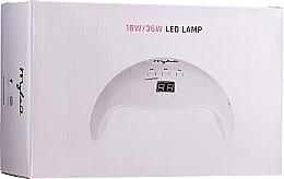 Profumi e cosmetici Lampada LED per gel e smalto gel, 18W / 36W - MylaQ