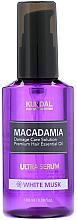 "Profumi e cosmetici Siero capelli ""Muschio bianco"" - Kundal Macadamia White Musk Ultra Serum"