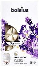 """Profumi e cosmetici Cera profumata """"Lavanda e camomilla"""" - Bolsius True Moods So Relaxed Lavender & Chamomile"""