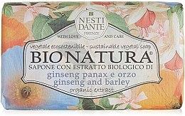 "Profumi e cosmetici Sapone ""Ginseng e orzo"" - Nesti Dante Bio Natura Ginseng & Barley Soap"