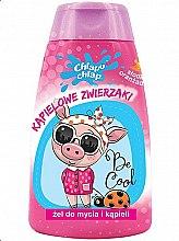 "Profumi e cosmetici Bagnoschiuma per bambini ""Animali da bagno"", arancio dolce - Chlapu Chlap Bath & Shower Gel"