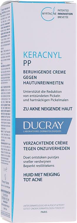 Crema lenitiva per la pelle a tendenza acneica - Ducray Keracnyl PP Anti-Blemish Soothing Cream