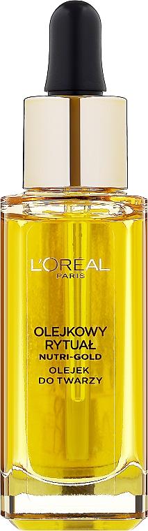 Olio viso - L'Oreal Paris Nutri Gold Face Oil Dry Skin — foto N1