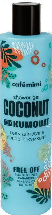 "Gel doccia ""Cocco e Kumquat"" - Cafe Mimi Shower Gel Coconut And Kumquat"