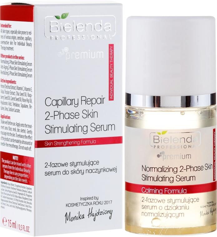 Siero bifasico stimolante per pelli couperose - Bielenda Professional Capilary Repair 2-Phase Skin Simulating Serum
