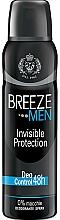 Profumi e cosmetici Breeze Deo Invisible Protection - Deodorante corpo