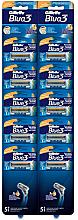 Profumi e cosmetici Set di rasoi usa e getta, 10 pz - Gillette Blue 3