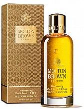 Profumi e cosmetici Molton Brown Mesmerising Oudh Accord & Gold Precious Body Oil - Olio corpo