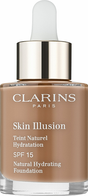 Fondotinta SPF 15 - Clarins Skin Illusion Foundation SPF 15