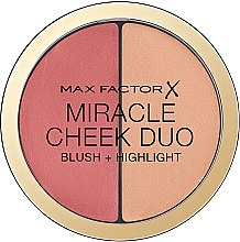Profumi e cosmetici Palette blush e illuminante - Max Factor Miracle Cheeck Duo