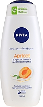 "Profumi e cosmetici Gel doccia ""Albicocca"" - Nivea Bath Care Shower Care&Apricot Seed Oil"