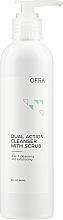 Profumi e cosmetici Detergente e scrub 2 in 1 - Ofra Dual Action Cleanser with Scrub
