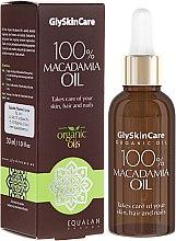 Profumi e cosmetici Olio di macadamia - GlySkinCare Macadamia Oil 100%
