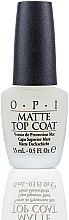 Profumi e cosmetici Top coat per una finitura opaca - O.P.I Matte Top Coat