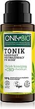 Profumi e cosmetici Tonico calmante e neutralizzante il pH della pelle - Only Bio