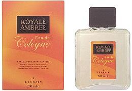 Profumi e cosmetici Legrain Royale Ambree - Colonia