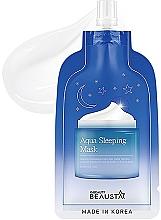 Profumi e cosmetici Maschera viso idratante con oli aromatici, da notte - Beausta Aqua Sleeping Mask