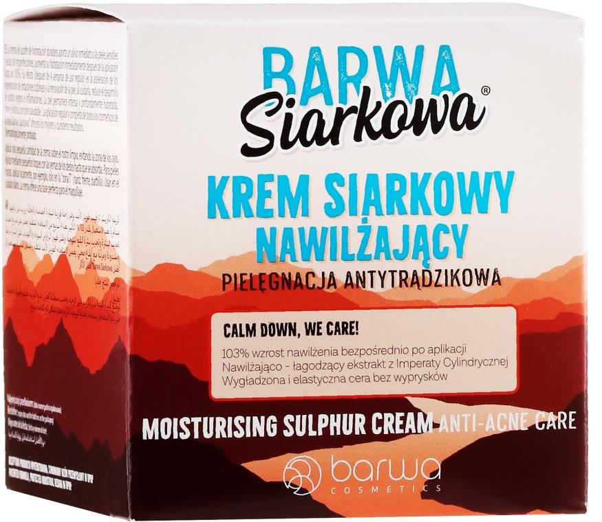 Crema allo zolfo idratante profonda - Barwa Sulphuric Cream Prolonged Moisturising — foto N1