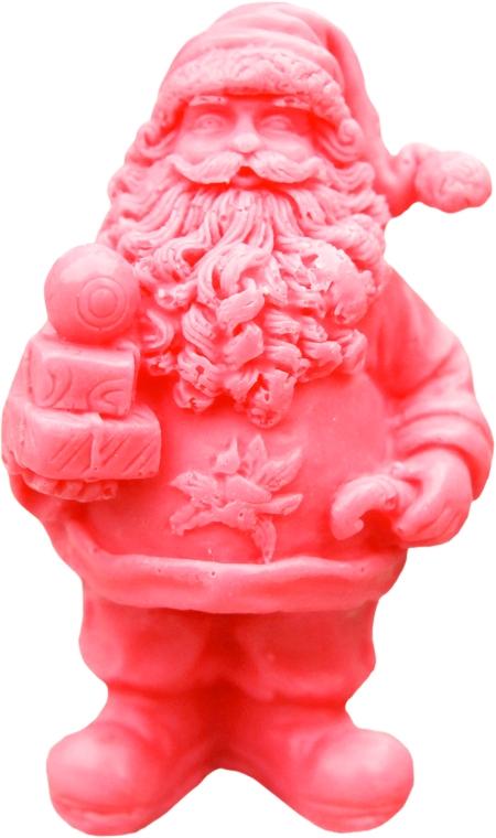 """Sapone naturale fatto a mano """"San Nicola con regali"""", con aroma di ciliegia - LaQ Happy Soaps Natural Soap"""