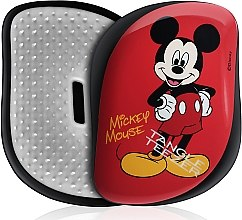 Profumi e cosmetici Spazzola capelli - Tangle Teezer Compact Styler Disney Mickey Mouse Red