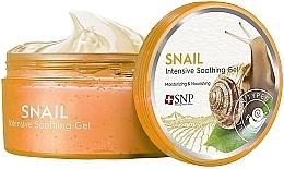 Profumi e cosmetici Gel viso e corpo con bava di lumaca emolliente, idratante, nutriente - SNP Intensive Snail Soothing Gel