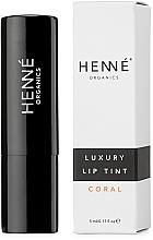 Profumi e cosmetici Tinta per labbra - Henne Organics Luxury Lip Tint