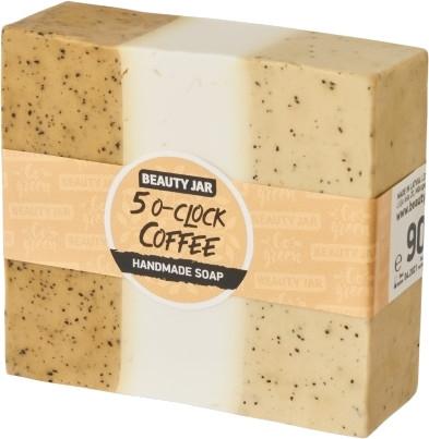 Sapone alla glicerina aromatizzato al caffè - Beauty Jar 5 O-clock Coffee Handmade Soap