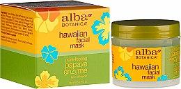 Profumi e cosmetici Maschera viso con enzimi di papaia - Alba Botanica Natural Hawaiian Facial Scrub Pore Purifying Pineapple Enzyme