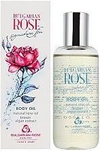 Profumi e cosmetici Olio corpo, con estratto di alghe e rosa - Bulgarian Rose Brown Algae Extract Body Oil