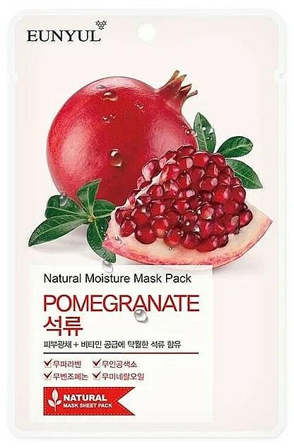 Maschera viso in tessuto all'estratto di melograno - Eunyul Natural Moisture Pomegranate Mask