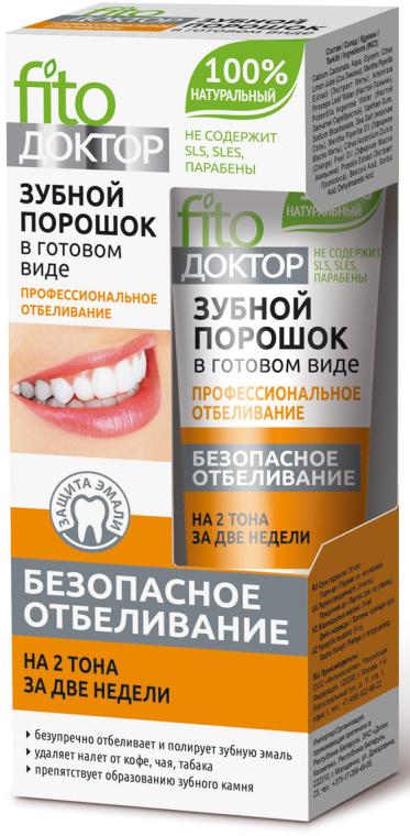 """Dentifricio in polvere """"Professional Whitening"""" - Fito Cosmetic"""