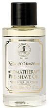 Profumi e cosmetici Olio pre-barba - Taylor of Old Bond Street Aromatherapy Pre-Shave Oil
