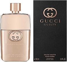 Profumi e cosmetici Gucci Guilty Eau de Toilette Pour Femme - Eau de toilette