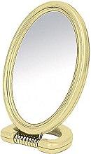 Profumi e cosmetici Specchio ovale, bilaterale, su supporto, 11x15 cm - Donegal Mirror
