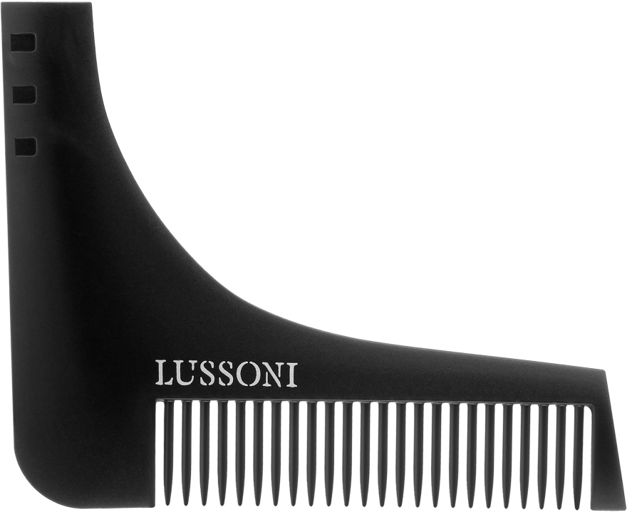 Pettine per barba - Lussoni BC 600 Barber Comb