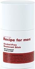 Profumi e cosmetici Deodorante stick - Recipe For Men Alcohol Free Deodorant Stick