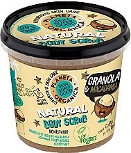 """Profumi e cosmetici Scrub corpo """"Granola e Macadamia"""" - Planeta Organica Granola & Macadamia Body Scrub"""