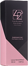 """Profumi e cosmetici Diffusore di aromi """"Chic parigino"""" - 42° by Beauty More Parisian Chiv Pink Pepper & Jasmine Luxury Home Diffuser"""